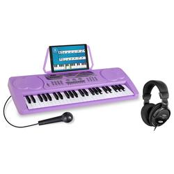 McGrey BK-4910VT Beginner-Keyboard Lila Set inkl. Kopfhörer