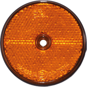 ANHGR 36500 - Anhänger - Reflektor, rund, orange, 2er-Set