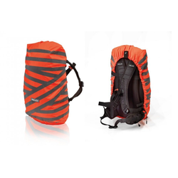 XLC Fahrradkorb XLC Rucksack Regenhülle orange/silber