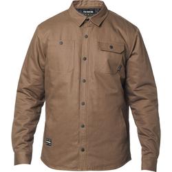 Hemd FOX - Montgomery Lined Work Shirt Dirt (117) Größe: M