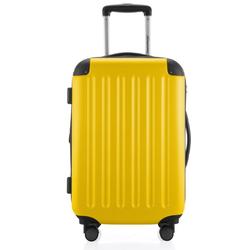Hauptstadtkoffer Hartschalen-Trolley Spree, 4 Rollen gelb 36 cm x 55 cm x 21 cm