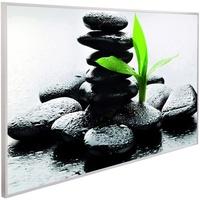 Papermoon Infrarotheizung EcoHeat 600 W Zen Basalt Steine