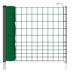 25m Kleintiernetz, Katzennetz, 75cm, grün