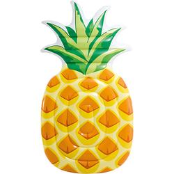 Luftmatratze Ananas, 216 x 124 cm orange/gelb
