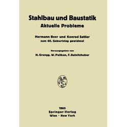 Stahlbau und Baustatik als Buch von