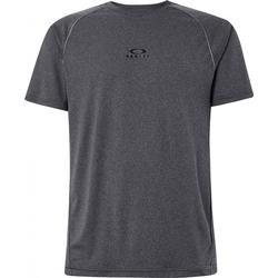 OAKLEY HEATHERED TOP T-Shirt 2021 dark grey heather - L