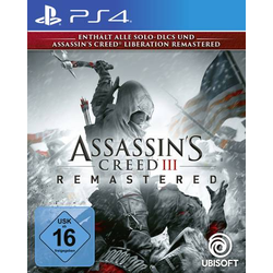 Assassins Creed 3 Remastered PS4 USK: 16