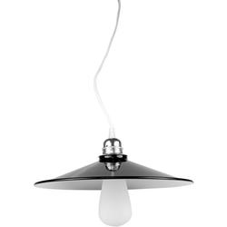 SEGULA Hängeleuchte Lampenschirm Schwarz-weiß