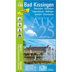 Bad Kissingen 1 : 25 000