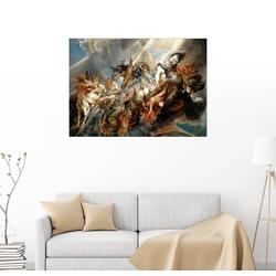 Posterlounge Wandbild, Sturz des Phaeton 80 cm x 60 cm