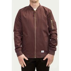 Jacke REELL - Flight Jacket Aubergine (AUBERGINE) Größe: L