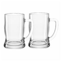LEONARDO Gläser-Set Taverna Bierseidel 2er Set 500 ml, Glas