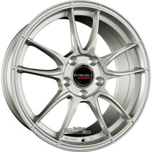 Alufelge BORBET MC Einteilig Brilliant Silver 11.00 x 19 ET 64.00 5x130.00 Wintertauglich - Exclusiv fr Porsche