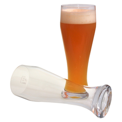 Weizenbiergläser Bierglas transparent mit Füllstrich 6 Stück