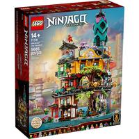 Lego Ninjago Die Gärten von Ninjago City 71741