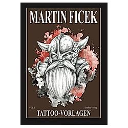 Martin Ficek. Tattoo Vorlagen. Johann Barnas  - Buch