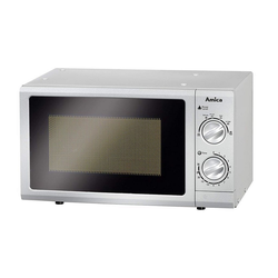 Amica Mikrowelle MW 13152Si Mikrowelle 17 L silber