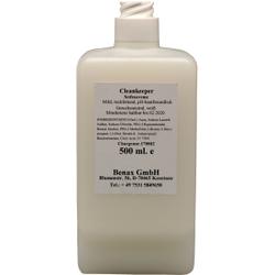 Cleankeeper Milde Seifencreme, 500 ml - Flasche -C-, weiß, unparfümiert