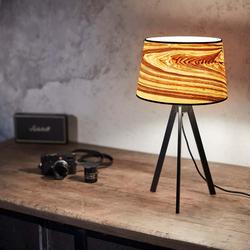 Dreibeintischlampe Attica 60cm Esche