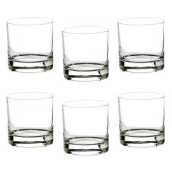 BigDean Whiskyglas 6er Set Whiskygläser Whiskeygläser 380ml spülmaschinenfest, Glas