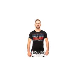 8 WEAPONS T-Shirt - Thaiboxing black (Größe: L)