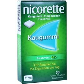 Nicorette Freshmint 2 mg Kaugummi 30 St.