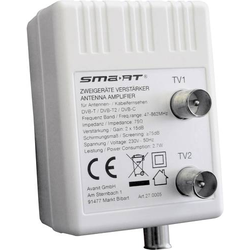 Smart HAV10B Kabel-TV Verstärker 2-fach