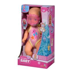 SIMBA Babypuppe Simba New Born Baby Badepuppe - 30 cm Puppe Babypuppe