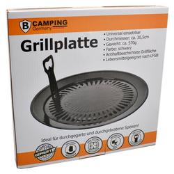 bahama Gaskocher, Camping Grillplatte Universal Ø30,5cm Grillaufsatz Campingkocher Grillrost Grill