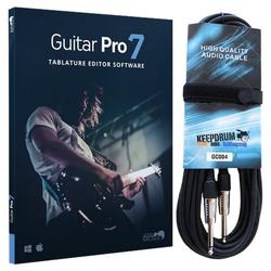 Arobas Music Arobas Guitar Pro 7 Software + Gitarrenkabel 6m