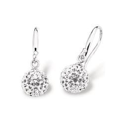 Amor Paar Ohrhaken 9696390, mit Kristallglassteinen