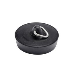 WENKO Abflussstöpsel, Ventilstopfen für Waschbecken, Maße (B/T): Ø 4,05 cm