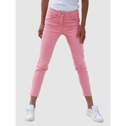Dress In 5-Pocket-Jeans Sabine Slim lila 54