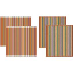 DDDDD Geschirrtuch Over the rainbow, (Set, 4-tlg., Combi-Set: bestehend aus 2x Küchentuch + 2x Geschirrtuch)