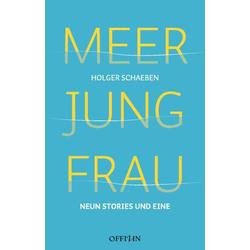 Meer Jung Frau: Buch von Holger Schaeben