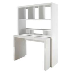HMW Büro-Set Danzig, mit ausziehbarem Schreibtisch