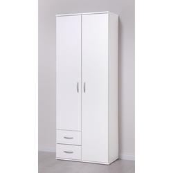 PROCONTOUR Mehrzweckschrank 2 Türen + 2 SK weiß