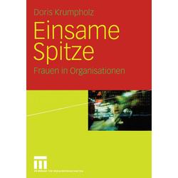 Einsame Spitze als Buch von Doris Krumpholz