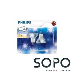 Philips Hal-Dich 4y 20W GU4 12V 30D 2BC-10 2er