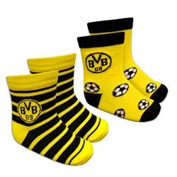 BVB-Kleinkindersocken (2er-Pack)