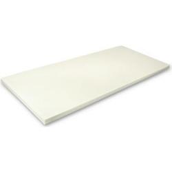 MSS Viscoelastische Matratzenauflage ohne Bezug 200x200 x5 cm
