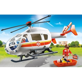 Playmobil City Life Rettungshelikopter 6686
