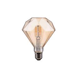 BUTLERS Tischleuchte BRIGHT LIGHT LED-Glühbirne Diamant