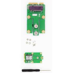 NGFF (M.2) WWAN/LTE/3G/4G zu Mini-PCIe Modul (intern, mit SIM-Slot)