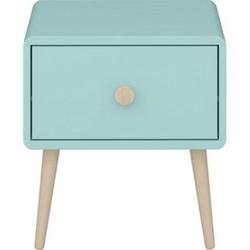 Gry Nachttisch 1 Schublade mint Holz Nachtschrank Konsole Schlafzimmer Möbel