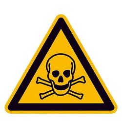 SafetyMarking® Warnaufkleber - Warnung vor giftigen Stoffen