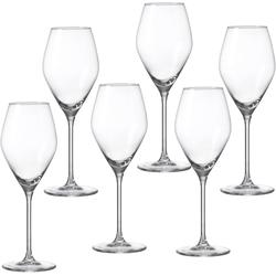 Ritzenhoff & Breker Weißweinglas Salsa (6-tlg), Glas, robust und kristallklar