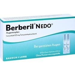 BERBERIL N EDO Augentropfen 10 ml