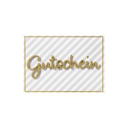 Perleberg Karte Gutschein Lettering 778 5007