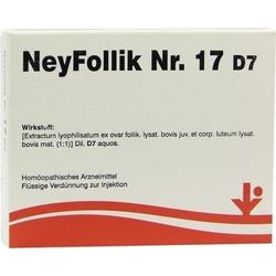 NEYFOLLIK Nr.17 D 7 Ampullen 10 ml